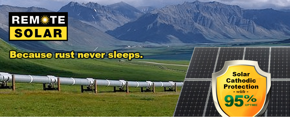 Solar Cathodic Protection with 95% uptime!